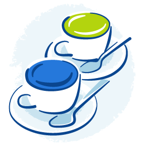 Teacups icon, meet us to discuss opportunities